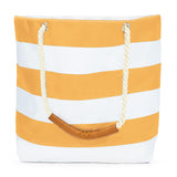 Oversized Stripe Waterproof Beach Tote