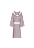 Knee Length Striped Jersey Knit Robe - Shopninespace - 5