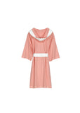 Knee Length Striped Jersey Knit Robe - Shopninespace - 2