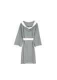 Knee Length Striped Jersey Knit Robe - Shopninespace - 9