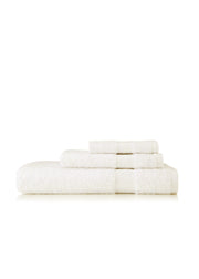 Supima Cotton Chevron Border Towel Set - Towels - Nine Space