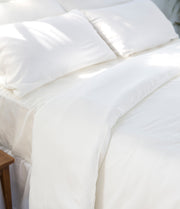 Elite Tencel Duvet Cover & Shams - Bedding - Nine Space