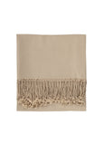 Solid Bamboo Viscose Throw - Blankets & Throws - Nine Space