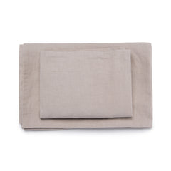 Hampshire Linen Cotton Blend Sheet Set - Bedding - Nine Space