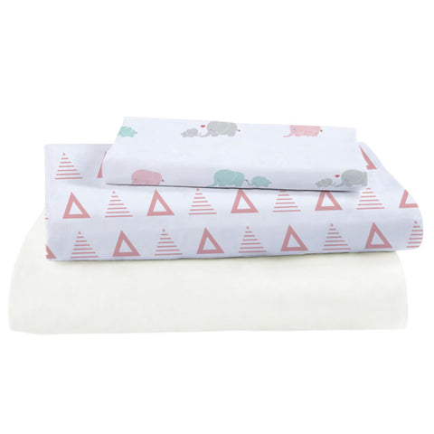 Bamboo Viscose Crib Sheet Set - Shirts - Nine Space