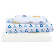 Bamboo Viscose Crib Sheet Set - Bedding - Nine Space