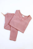 Delilah Loungewear Set - Short Sleeve - Shopninespace - 3