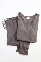 Delilah Loungewear Set - Short Sleeve - Sleepwear & Robes - Nine Space