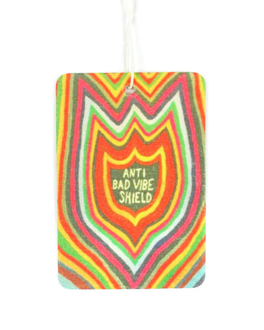 Anti Bad Vibe Shield Car Air Freshener