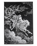Death On A Pale Horse Large Back Patch-Inner Decay-Strange Ways