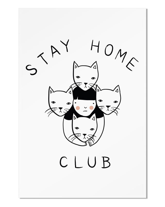 Stay Home Club Art Print-Stay Home Club-Strange Ways