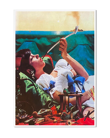 Smoking Clouds Art Print