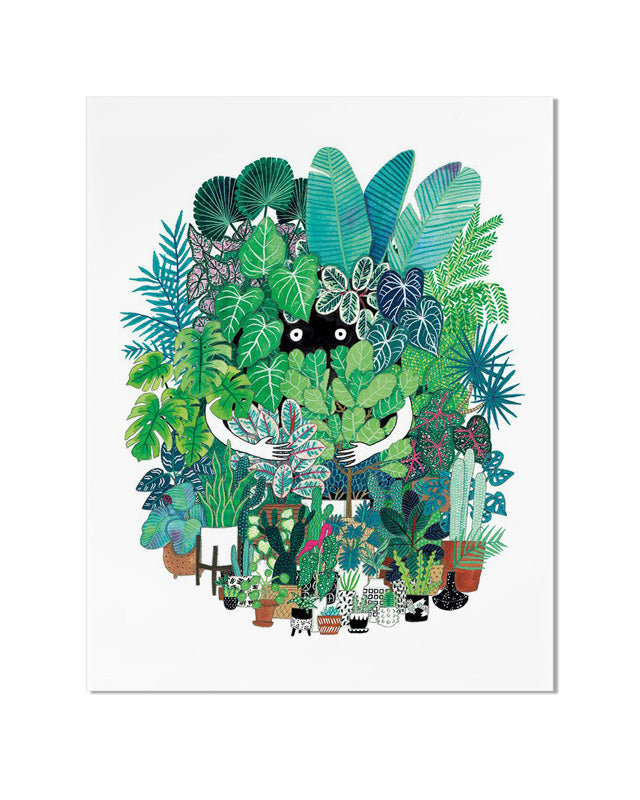 Plant Freak Art Print-Cactus Club Paper-Strange Ways
