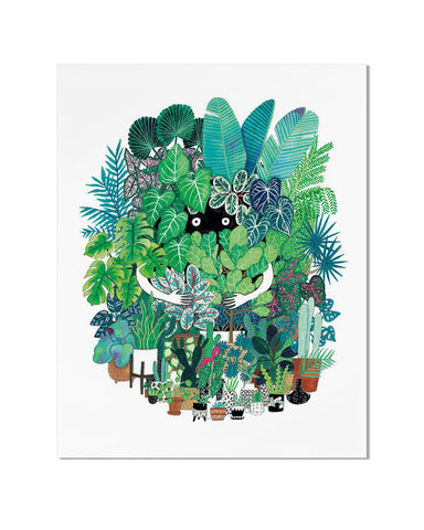 Plant Freak Art Print