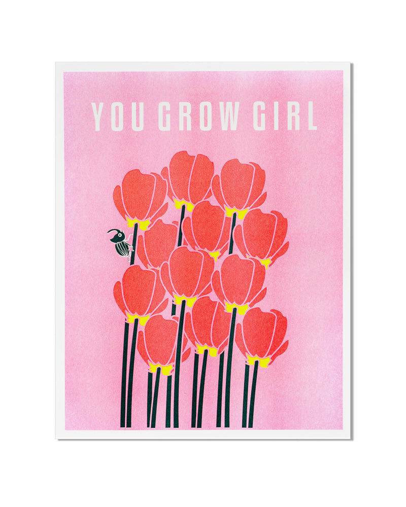 You Grow Girl Art Print-ILootPaperie-Strange Ways