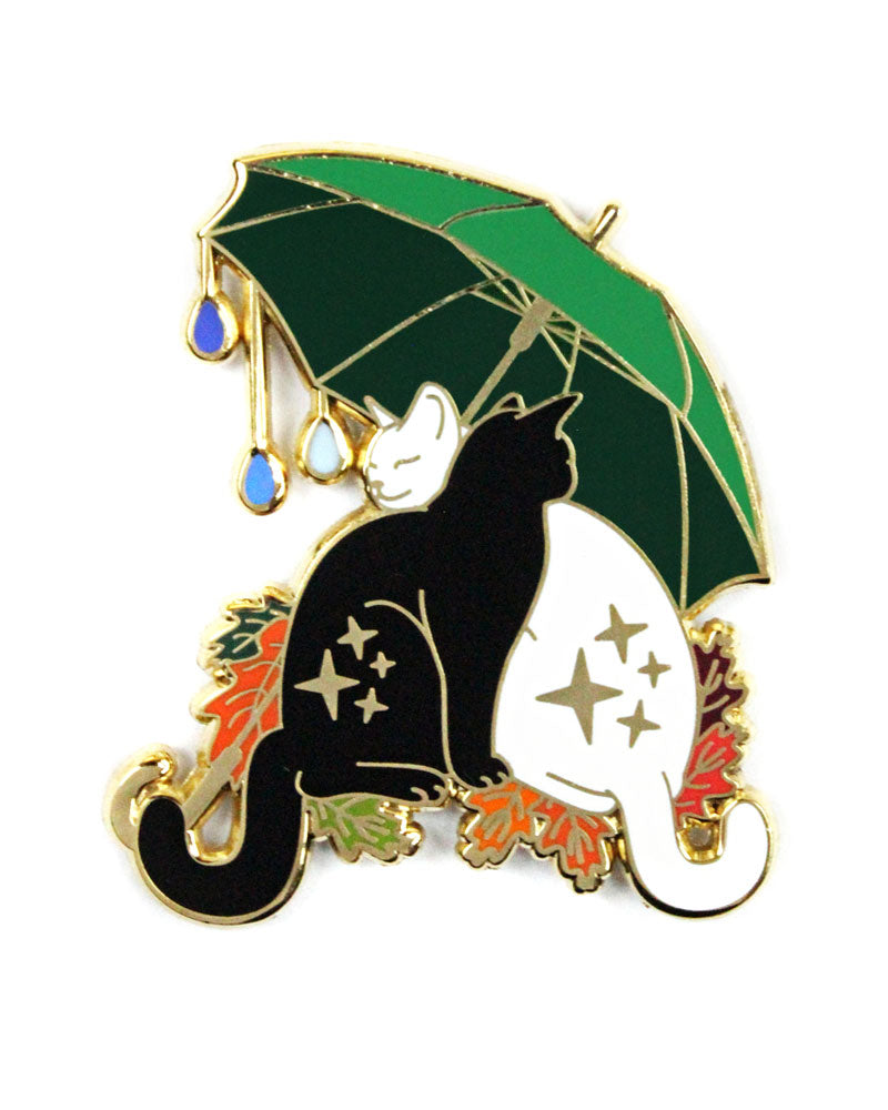 Umbrella Cats Pin-Glitter Punk-Strange Ways