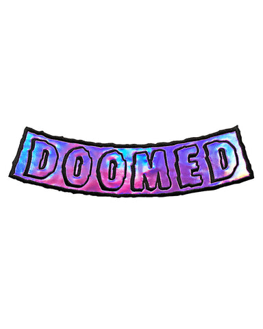 DOOMED Large Back Patch - Slime