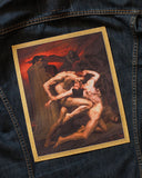 Dante And Virgil In Hell Large Back Patch-Inner Decay-Strange Ways