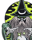 Dark Magic Wizard Large Back Patch (Glow-in-the-Dark)-Mean Folk-Strange Ways