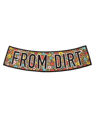 From Dirt Large Back Patch
