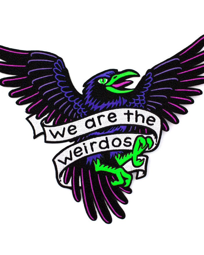 We Are The Weirdos Large Back Patch-Band Of Weirdos-Strange Ways