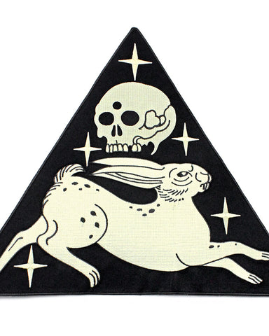 Rabbit Skull Large Back Patch (Limited Edition)
