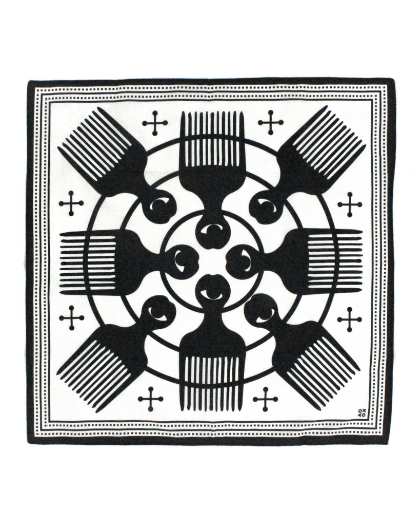 Eye Of The Beholder Bandana (Limited Edition)-All Very Goods-Strange Ways