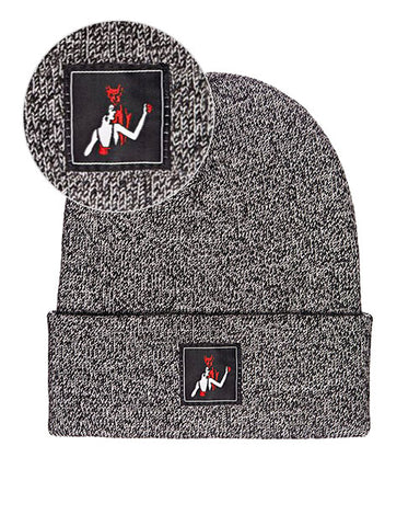 Dance With The Devil Beanie - Grey Marl