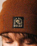 Death Before Decaf Coffee Beanie-Pyknic-Strange Ways