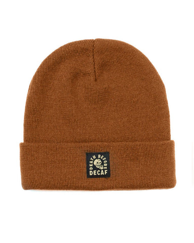 Death Before Decaf Coffee Beanie