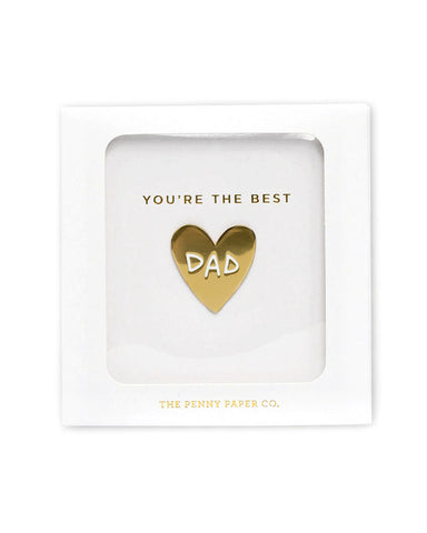 You're The Best Dad Pin (Gift Box)