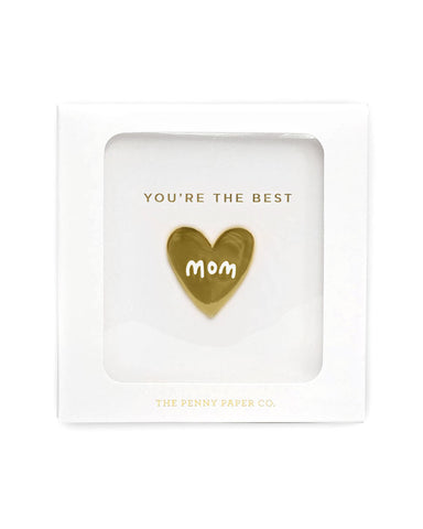 You're The Best Mom Pin (Gift Box)
