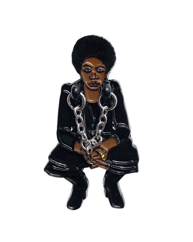 Nina Simone Dangly Pin