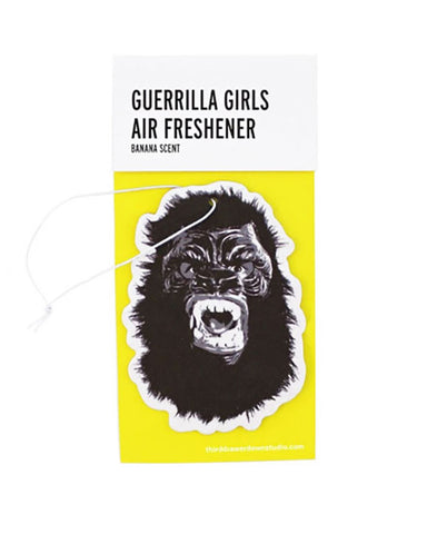 Guerrilla Girls Car Air Freshener