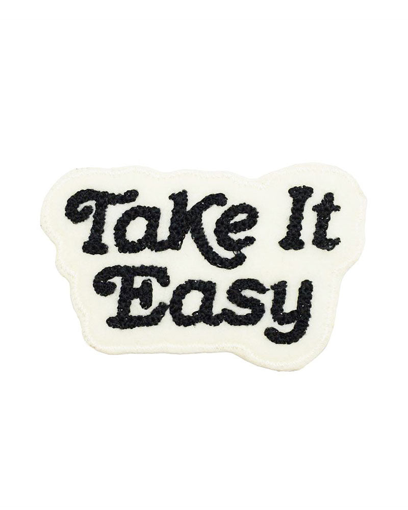 Take It Easy Chainstitch Patch-Lucky Horse Press-Strange Ways