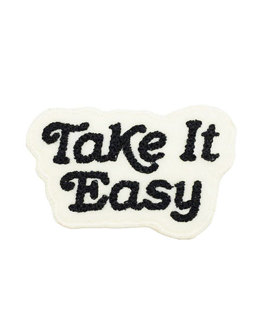 Take It Easy Chainstitch Patch