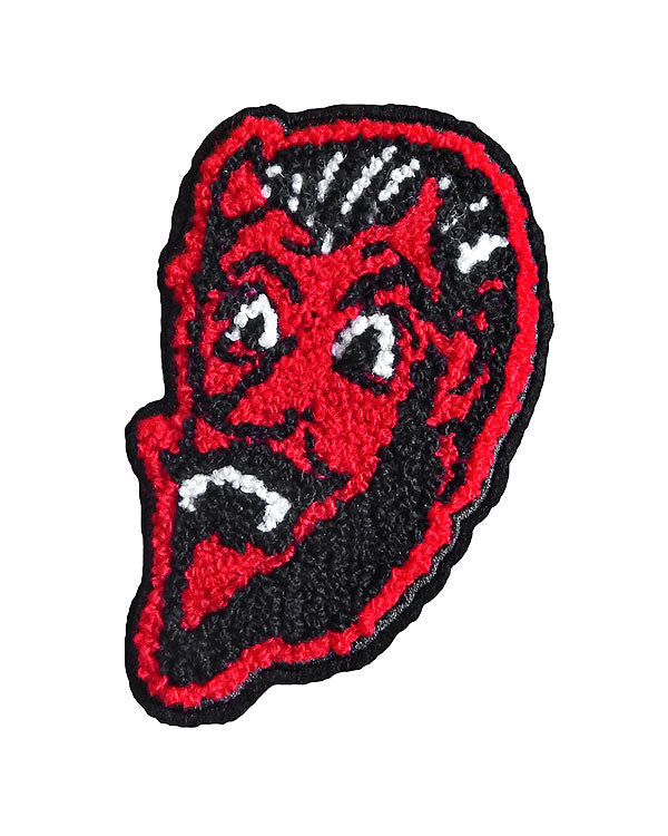 Devil's Grin Chenille Patch-Hungry Ghost Press-Strange Ways