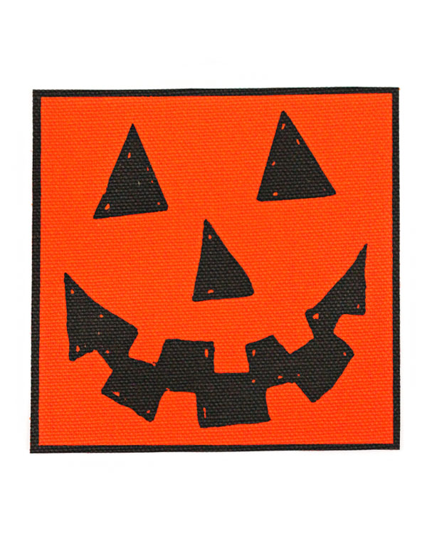 Jack-O-Lantern Large Fabric Patch-Quiet Tide Goods-Strange Ways