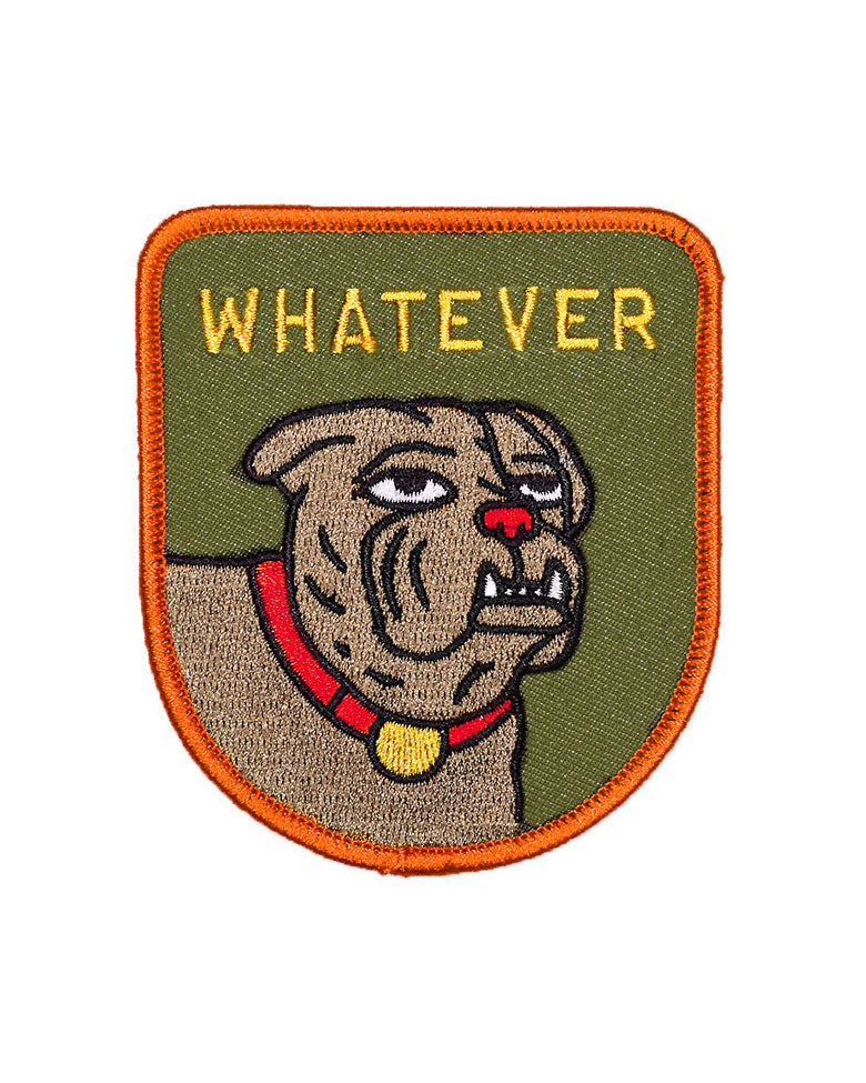 Whatever Dog Patch-Oxford Pennant-Strange Ways