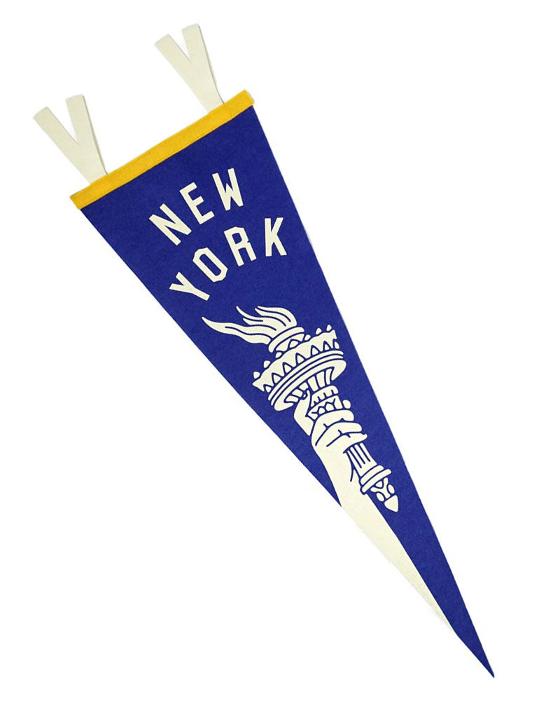 New York Torch Pennant-Oxford Pennant-Strange Ways