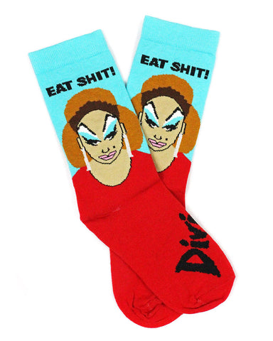 "Divine ""Eat Shit"" Socks"
