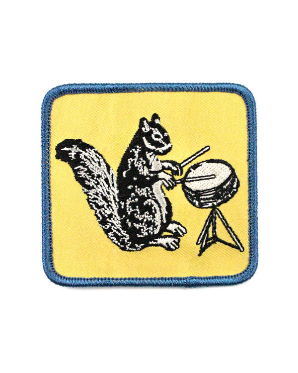 Drumming Squirrel Patch-Quiet Tide Goods-Strange Ways