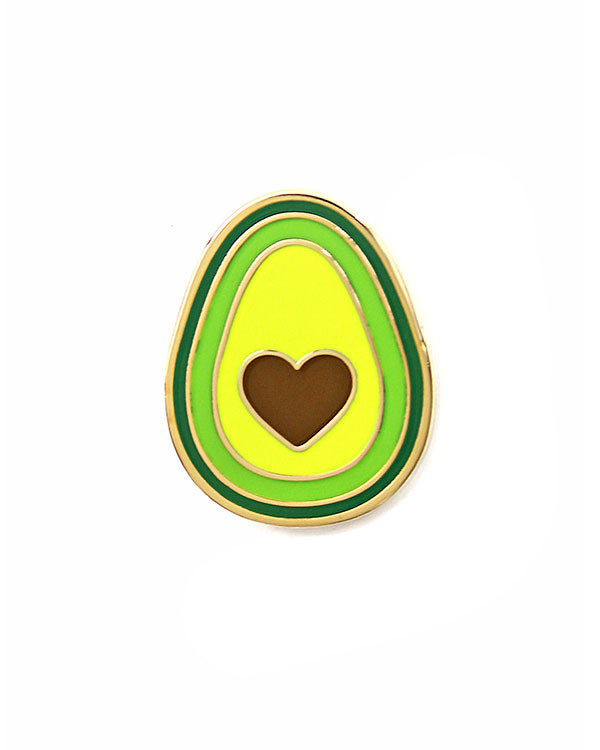Avocado Heart Pin-These Are Things-Strange Ways