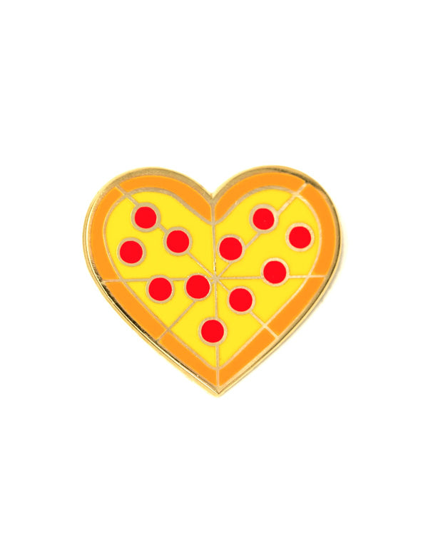 Pizza My Heart Pin-These Are Things-Strange Ways