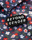 Beyond Gender Pin - Black-Bianca Designs-Strange Ways
