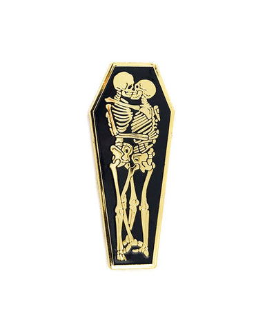 Coffin Love Pin