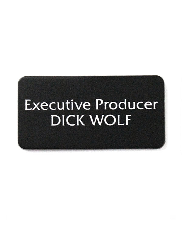 Executive Producer Dick Wolf Pin-Twisted Egos-Strange Ways