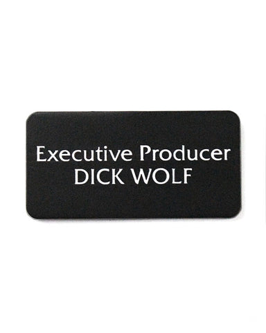 Executive Producer Dick Wolf Pin
