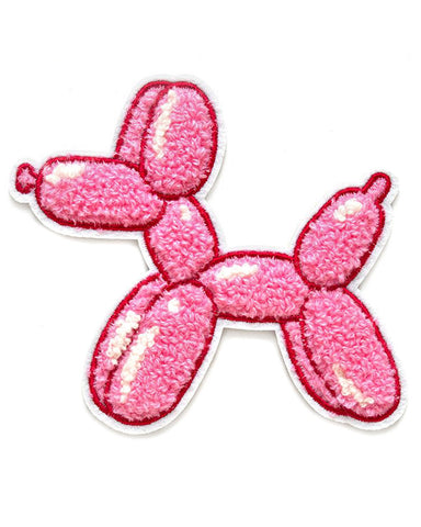 Balloon Dog Chenille Patch