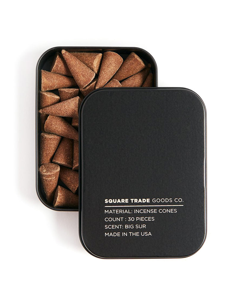 Big Sur Scented Incense Cones-Square Trade Goods-Strange Ways